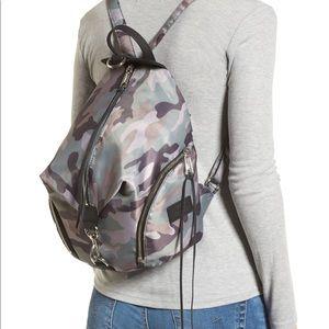 Rebecca Minkoff Julian Nylon Backpack- camo